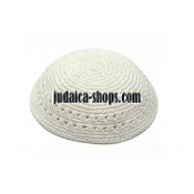 Knitted Kippah White
