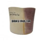 Ceramic Wash Cup - Brown