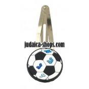 Alef Bet soccer clips kippah