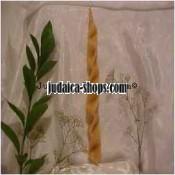 Interwoven Havdalah Candle - Natural