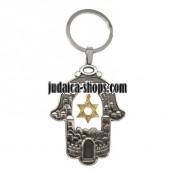 Key Chain  - Magen David - Hamsa