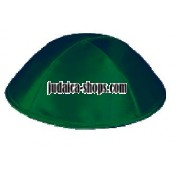 Satin Kippah – Forest Green