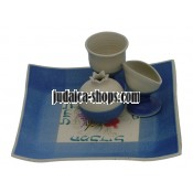 Ceramic Havdalah Set - Blue