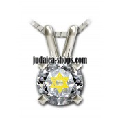 Shema Yisrael Necklace with Star of David