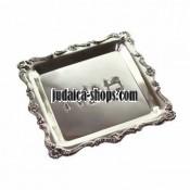 Silver-plated  Matzah Plate