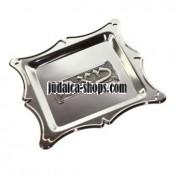 Silver plated Matzah Plate