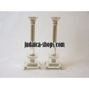 Silver-Plated Candlestick