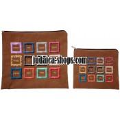 Tallit Bag & Tefillin Bag - Hoshen - Bright Brown