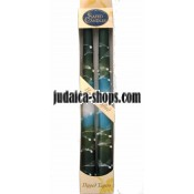 Hand-crafted. Dipped Tapers - Green
