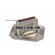"Magen David"" Match-Box Holder & Tray"