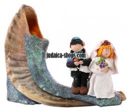 Bride and Groom Shofar