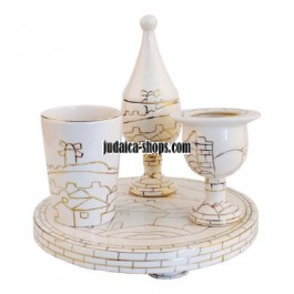 Porcelain Havdalah Set