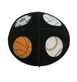 Leather Kippah - Sport