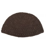 Black Knitted  Kippah