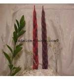 Long Braided Havdalah Candle