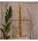 Interwoven Havdalah Candle - Natural