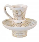 Porcelain Mayim Achronim Golden Design