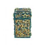 Tzedakah Box - turquoise