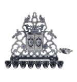 Pewter Menorah (Hanukiah) - Doors