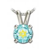 24 K Gold Shema Yisrael Necklace