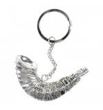 Silver Key Chain  - Jerusalem. Shofar