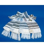 Chain-adorned Tallit